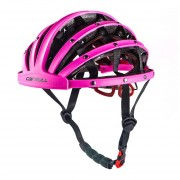 Casco Carretera Para Unisex Plegable E-Thinker - Rosa