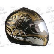 Helm Texcoco Kleur: Zwart Goud Maat: S