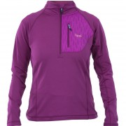Fleece Mujer Ventus Nano F 1/4 Zip Púrpura Lippi