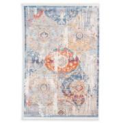 Schöner Wohnen Designteppich Mystik 160 x 235 cm Silber Polyester