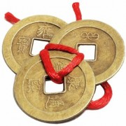 GOOD LUCK Astrology Goods New Stylish Chinese properly Energised Pure Quality 2 Sets Of 3 Super Lucky Coins