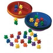 Baby Bear Sorting Set; 6 Colors; 102 Bears Per Pack; no. LER0739