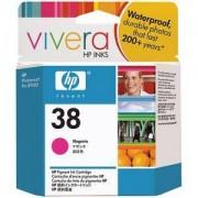 HP 38 ( C9416A ) Magenta Pigment Ink