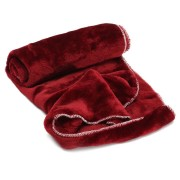 Soft Fleece Puppy Dog Sleep Blanket Cat Thick Warm Blankets Pet House Sleeping Bed Mat Pad Kennel