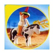 Playmobil Indian Child with Pony