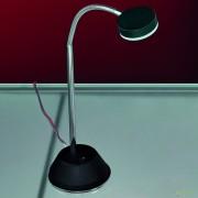 Veioza LED / Lampa birou design modern Mira LA 4-1133/1 chrom/schwarz OR