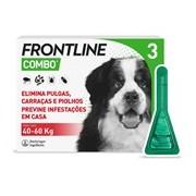 Combo spot on para cães dos 40 aos 60kg 3pipetas - Frontline