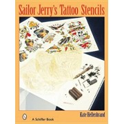 Sailor Jerry's Tattoo Stencils, Paperback/Kate Hellenbrand