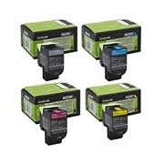 Lexmark Pack Toners 80C2S (4 Colores)