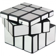 Dealbindaas Cube Mirror Puzzle New Design 3by3 Silver