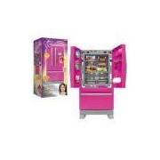 Refrigerador Xalingo Side By Side Casinha Flor, Rosa