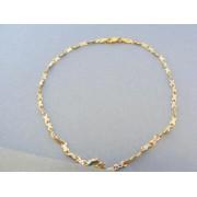 Zlatý náramok na ruku žlté biele zlato VN19277V