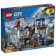 Lego city 60174 police quartier generale della polizia di montagna