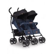 easyGO Easy Go Duo Comfort Wózek Spacerowy Bliźniaczy - Denim