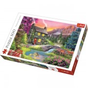 Trefl Puzzle Slagalica Mountain idyll 500 kom (37325)
