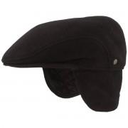 Hut-Breiter Wintermütze mit Ohrenschutz / Hut-Breiter Schwarz 61