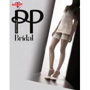 Pretty Polly Bridal Lace Top Hold Ups