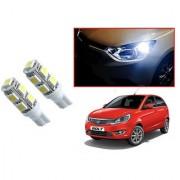 Auto Addict Car T10 9 SMD Headlight LED Bulb for Headlights Parking Light Number Plate Light Indicator Light For Tata Bolt