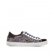 VICTORIA Sneakers Deportivo Glitter Contraste