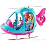 Mattel Barbie L'Elicottero. Rosa e Azzurro con Elica Che Gira (Bambola N...
