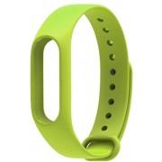 Xiaomi mi band 2 bandje van By Qubix - Licht groen - Universeel - sport bandje - Geschikt voor alle Xiaomi Mi band 2 activity trackers - Rubberen bandje - Inclusief druksluiting!