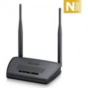 Рутер ZyXEL NBG-418N v2, Router Wireless 802.11n (300Mbps), 4x10/100Mbps, WPA2, 2x 5dBi antenna - NBG-418NV2