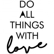 do all poster|valentine poste|love birds poster|poster for lovers|size(12x18 inch) wall sticker poster