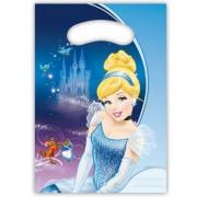 Feestzakjes Cinderella 6 stuks