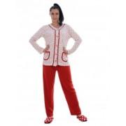 Pijama dama cu nasturi
