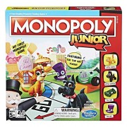 Monopoly Junior Game ( Amazon Exclusive) by Hasbro