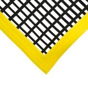 Černá olejivzdorná protiskluzová průmyslová univerzální rohož - 120 x 60 x 1,2 cm (80000883) FLOMAT