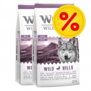 Wolf of Wilderness Fai scorta! 2 x 12 kg Wolf of Wilderness - Adult Sunny Glade - Selvaggina