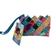 Doc McStuffins Candy Wrapper Hand Woven Wristlets