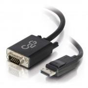C2G 84333 1m DisplayPort VGA (D-Sub) Black video cable adapter