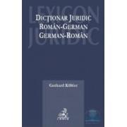 Dictionar juridic roman-german german-roman - Gerhard Kobler