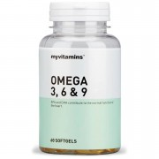 Myvitamins Omega 3, 6 & 9 - 3 Months (180 Softgels)