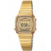 Casio LA670WEGA-9EF goudkleurig Retro horloge
