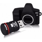 Tobo Mini DSLR Camera USB Flash Drive USB 2.0 8 GB Pen Drive(Black)