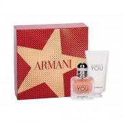 Giorgio Armani Emporio Armani In Love With You zestaw Edp 30 ml + Krem do rąk 50 ml dla kobiet