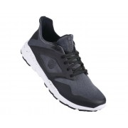 Men's Rebo Trainers Smokey Grey Black