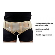 Wonder Care-Double Inguinal Hernia Support Belt - Truss Brace with two pressure pads
