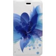 Husa Flip Cover Tellur Samsung Galaxy A3 2017 A320 Albastru Floral