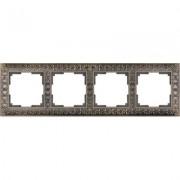 Рамка Werkel Antik 4 поста бронза WL07-Frame-04