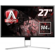 "Monitor Gaming TN LED AOC 27"" AG271QX, WQHD (2560 x 1440), HDMI, DisplayPort, DVI, VGA, 1 ms, 144 Hz, Boxe, Pivot (Negru)"
