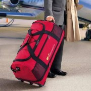 Ultraleichte XXL-Reisetasche, Rot