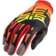 Acerbis MX-X2 Motocross guantes 2017 Negro Naranja M