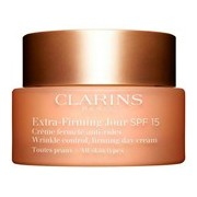 Extra firming creme dia antirrugas e firmeza spf15, todo tipo de pele 50ml - Clarins
