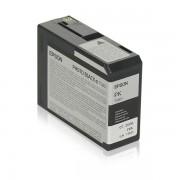 Epson Originale Stylus Pro 3800 Cartuccia stampante (T5801 / C 13 T 580100) nero foto, Contenuto: 80 ml