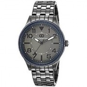 Gio Collection Analog Grey Dial Mens Watch - G1005-66