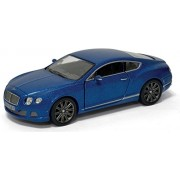 Kiditos Kinsmart 2012 Bentley Continental GT Speed Diecast Car, Color May Vary